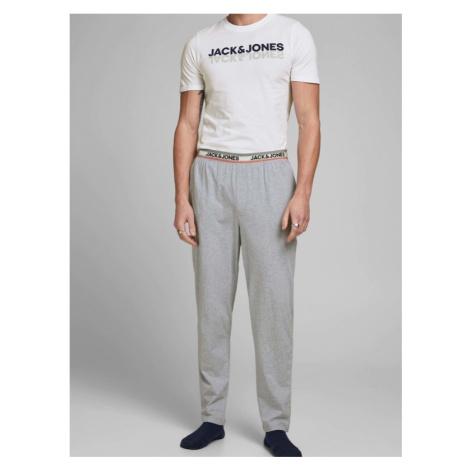 Jack & Jones Jacjones Pyžamo Weiß