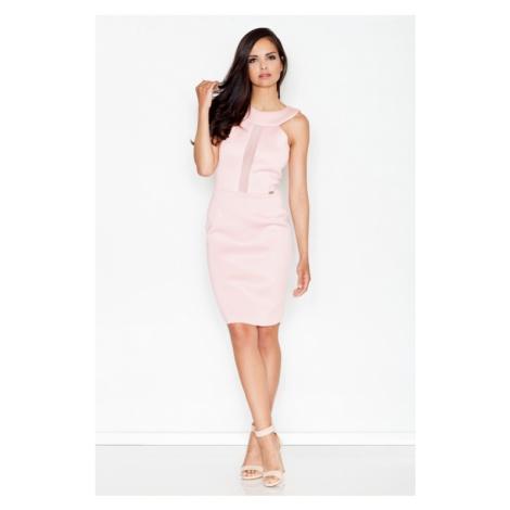 Damen Kleider M372 pink Figl