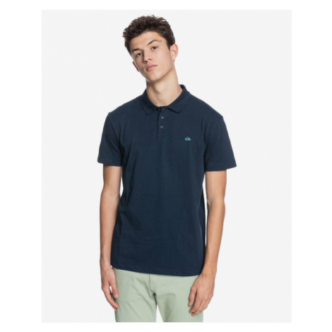 Quiksilver Essentials Polo T-Shirt Blau