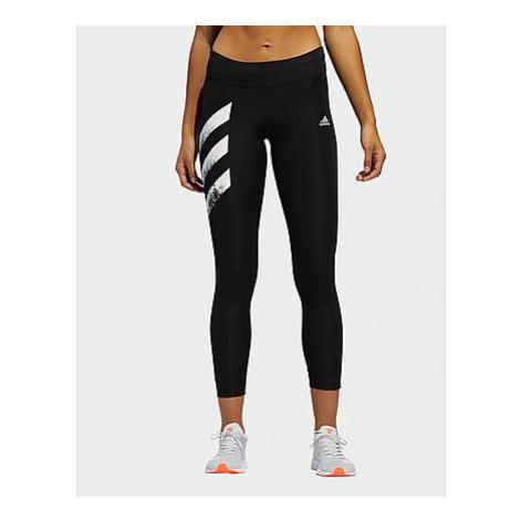 Adidas Own The Run 3-Streifen Fast Tight - Black - Damen, Black