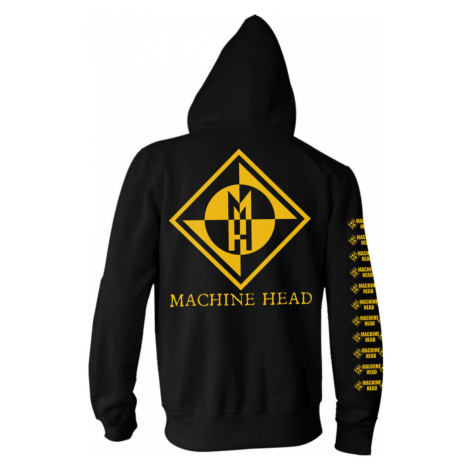 Hoodie Männer Machine Head - Diamond - NNM - RTMHZHBDIA XXL