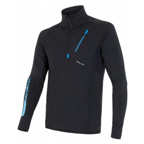 Herren Sweatshirt Sensor Tecnostretch black 15200041