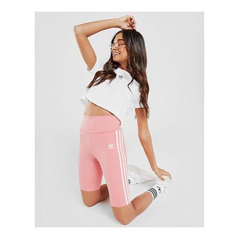 Adidas Originals Adicolor Classics Primeblue High-Waisted kurze Tight - Hazy Rose - Damen, Hazy