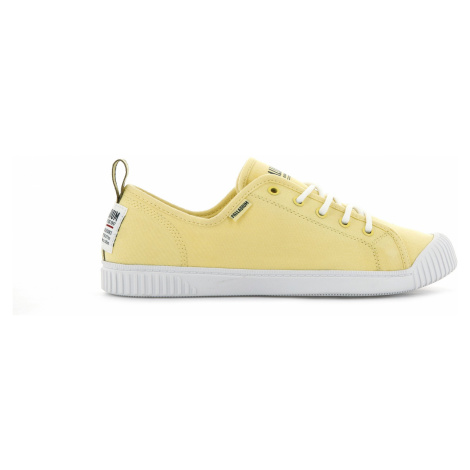 Palladium Boots Womens Easy Lace Canvas Gold Finch