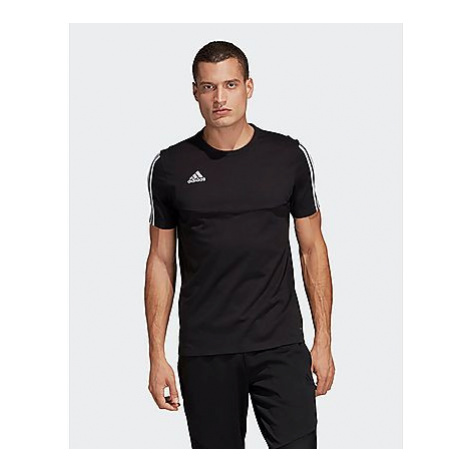Adidas Tiro 19 T-Shirt - Black / White - Herren, Black / White