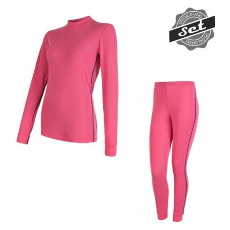 Damen Set Sensor ORIGINAL ACTIVE SET shirt + unterhosen rosa 17200054