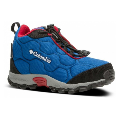 Columbia CHILDRENS FIRECAMP MID 2 WP blau - Kinder Wanderschuhe