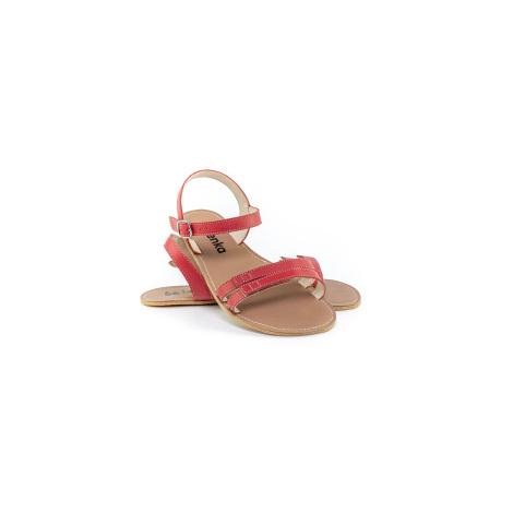 Barefoot Sandalen Be Lenka Summer - Red 43