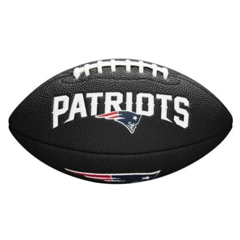 Wilson MINI NFL TEAM SOFT TOUCH FB BL NE - American Football