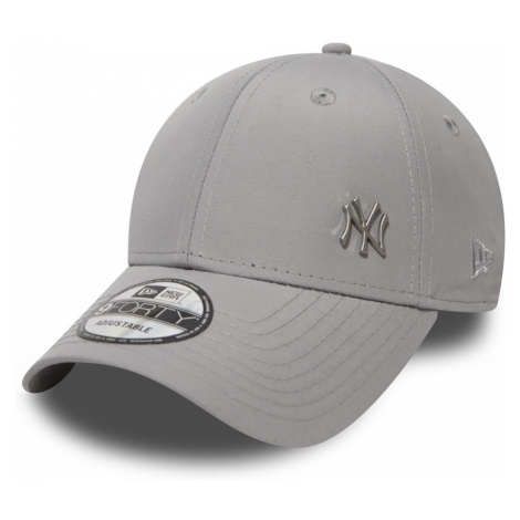 New Era MLB Flawless Logo 9Forty Adjustable Cap NY YANKEES Grau