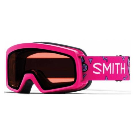 Smith RASCAL rosa - Kinder Skibrille