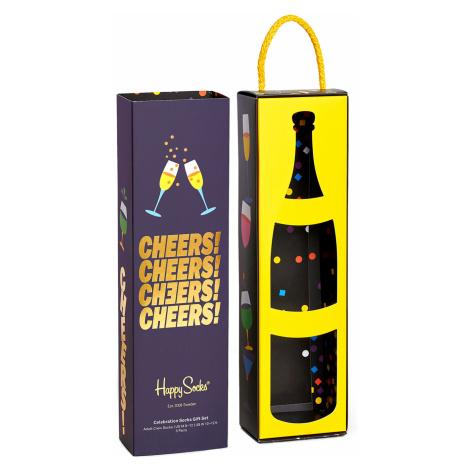 Happy Socks Geschenkbox CELEBRATION SOCKS GIFT BOX 3-PACK XCEL08-9300 Mehrfarbig