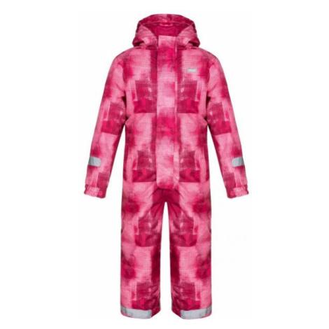 Loap CUSTER rosa - Skianzug für Kinder