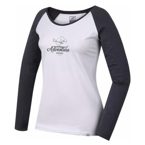 T-Shirt HANNAH Fabris bright weiß / castlerock