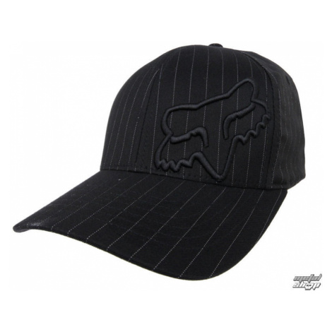 Basecap FOX - Flex 45 - BLACK PINSTRIPE XS/S