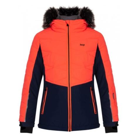 Loap OKUMA orange - Skijacke für Kinder