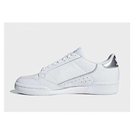 Adidas Originals Continental 80 Schuh - Cloud White / Cloud White / Silver Met. - Damen, Cloud W