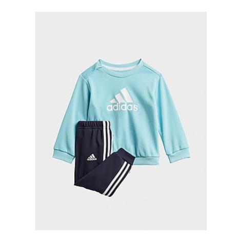 Adidas Badge of Sport French Terry Jogginghose - Hazy Sky / White, Hazy Sky / White