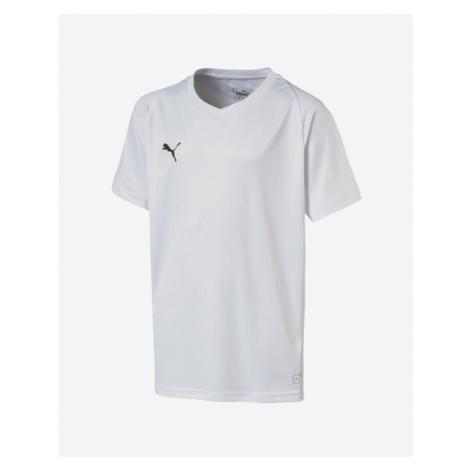 Puma Liga Jersey Core Kinder  T‑Shirt Weiß