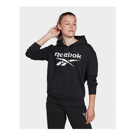 Reebok reebok identity logo french terry hoodie - Black - Damen, Black