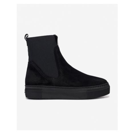 Schwarze chelsea boots für damen