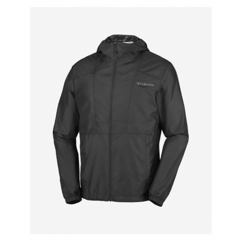 Columbia Flashback Windbreaker Jacke Schwarz
