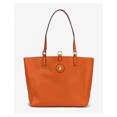 U.S. Polo Assn Malibu Medium Handtasche Beige Orange