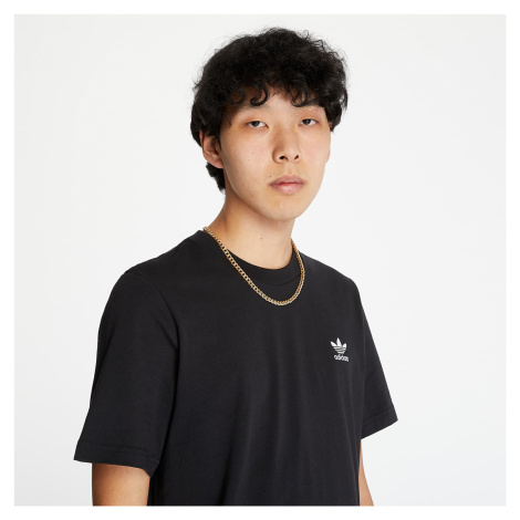 adidas Trefoil Essentials Tee Black