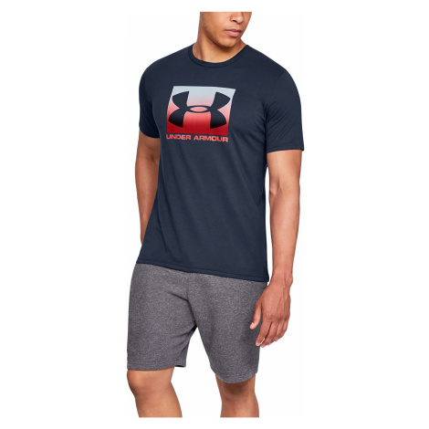 Under Armour Boxed Sportstyle SS Tee Navy