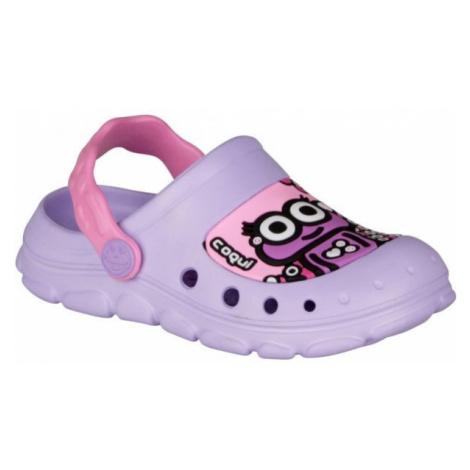 Coqui STONEY violett - Kinder Sandalen