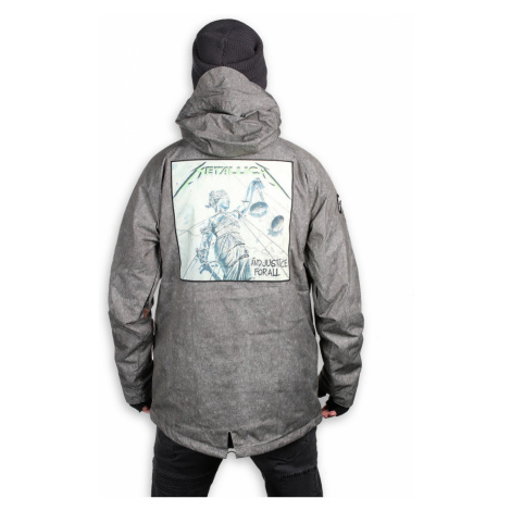 Winter Metal Jacke (Snowboardjacke ) METALLICA x SESSIONS XL