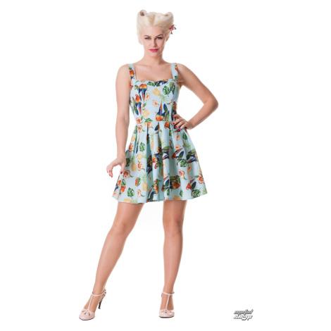 Damen Kleid HELL BUNNY - Becky - Blue - 4236