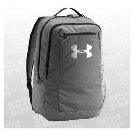 Under Armour Hustle Backpack LDWR grau/silber Größe UNI