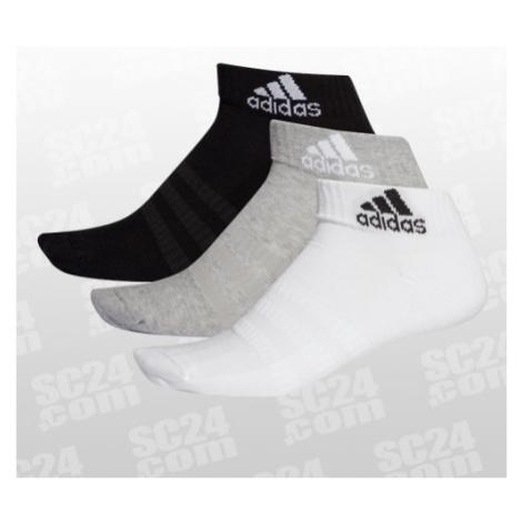 Adidas Cushioned Ankle Socks 3Pack schwarz/weiss Größe S