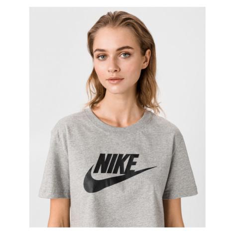 Nike Crop Top Grau