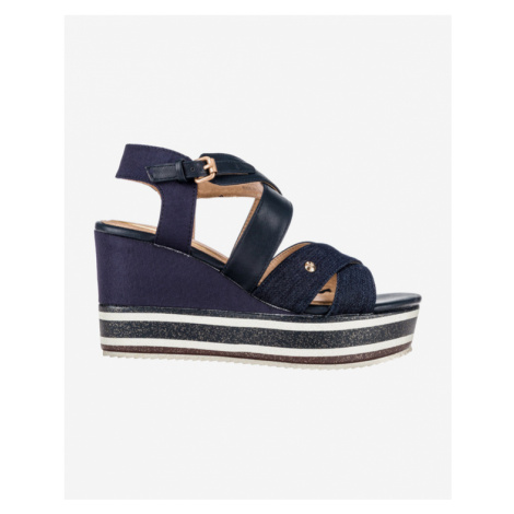 Wrangler American Wonder Schuhe mit Keilabsatz Blau