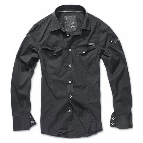 Brandit Hemd SLIM WORKER SHIRT BD4005 Black