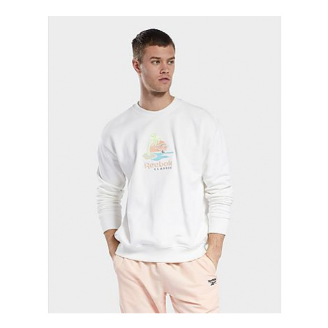 Reebok classics crew sweatshirt - Chalk - Herren, Chalk