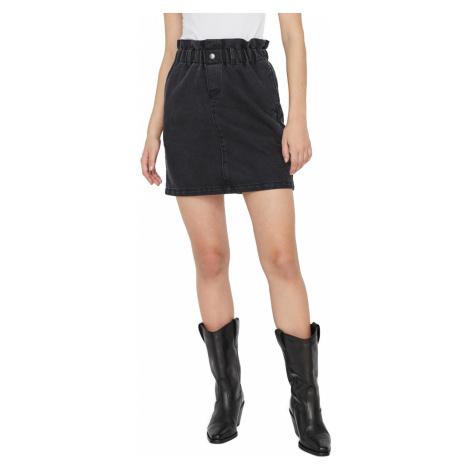 Noisy May Damen Mini Rock Nmjudo Hw Papback Skirt - Schwarz - Black