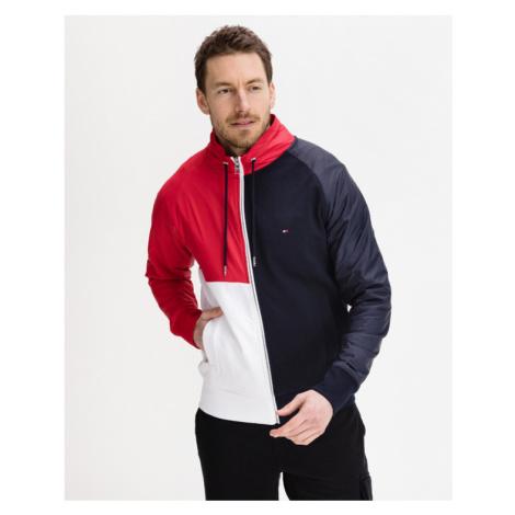 Tommy Hilfiger Mix Media Colorblock Sweatshirt Blau Rot Weiß