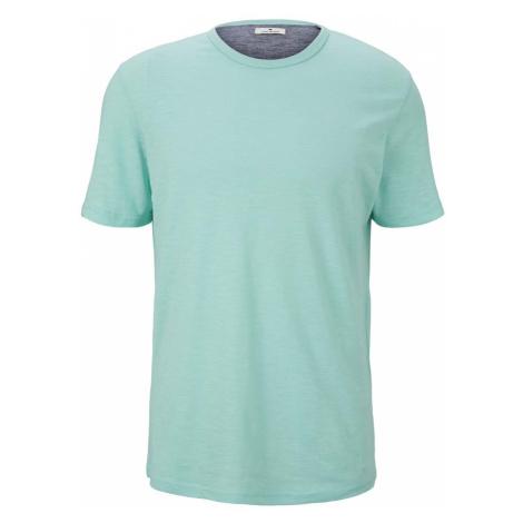 TOM TAILOR Herren strukturiertes Tshirt, grün