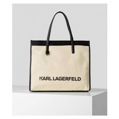 K/SKUARE TOTE BAG AUS CANVAS Karl Lagerfeld