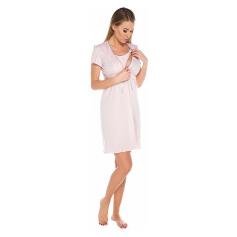 Damen Umstandwäsche Felicita apricot Italian Fashion