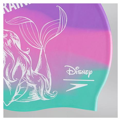 Speedo Disney Little Mermaid Adult Print Cap, Lila/Grün