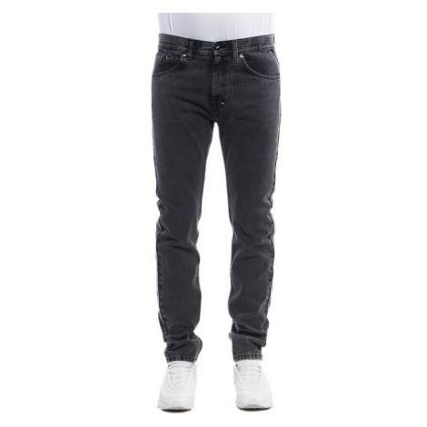 Pants Mass Denim Signature Jeans Tapered Fit black stone washed