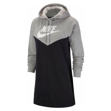 Nike NSW HRTG HOODIE DRESS SB schwarz - Damen Kleid