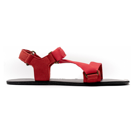 Barefoot Sandalen Be Lenka Flexi - Red 43