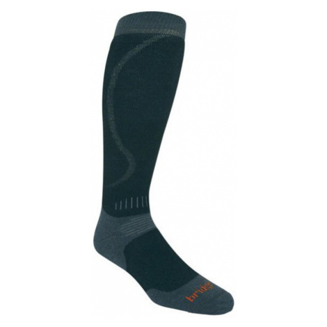 Socken Bridgedale All Mountain 861 schwarz/gunmetal