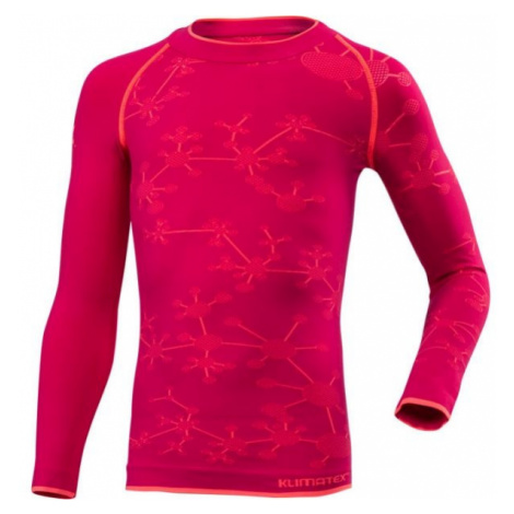 Klimatex BIGGY rosa - Mädchen Funktionsshirt