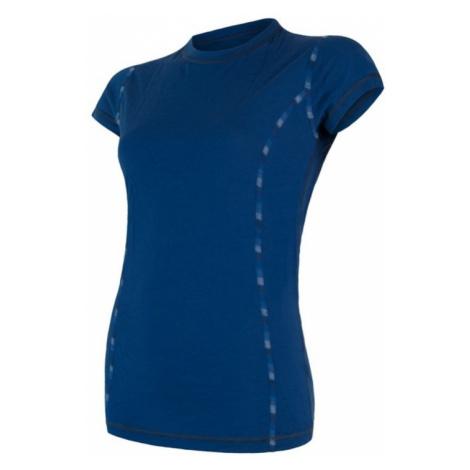 Damen T-Shirt Sensor MERINO AIR dark  blue 17200012